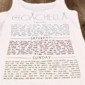 Coachella Tops - Coachella 2013 Lineup Tank Top